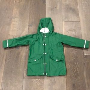 New Hanna Andersson Raincoat Size 5/110